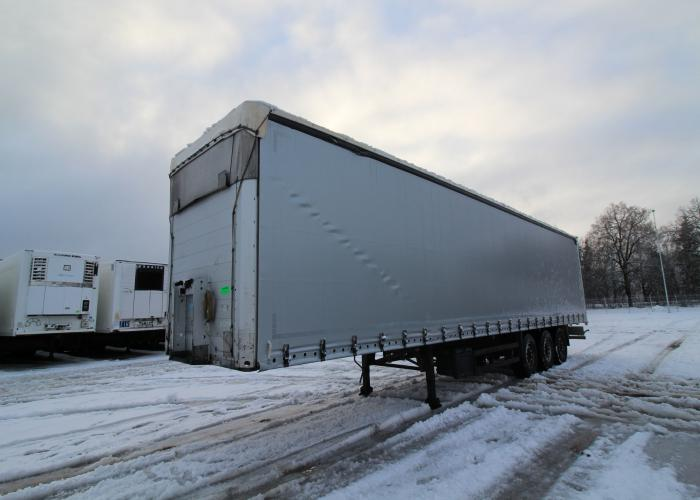 Schmitz Scs 24 Tir Curtainsiders Semitrailers Hanse Trailer