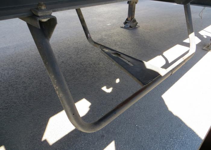 2007 Puoliperävaunu Sideboards Krone SDP 27