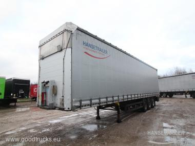 2013 Puspriekabė Užuolaidinė Schmitz SCS 24 TIR TIR XL