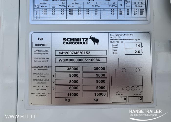 2013 Полуприцеп Рефрижераторы Schmitz SKO 24