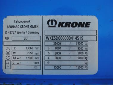 Krone SD2 KONIKI  Disc brakes