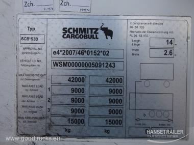 Schmitz SKO 24 FP60 7cm Wall