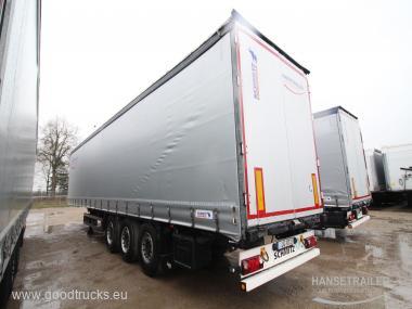 2014 Puspriekabė Užuolaidinė Schmitz SCS 24/L Hydraulic roof XL