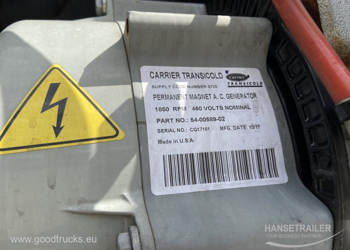 2018 Puspriekabė Šaldytuvas Schmitz SKO 24 FP45 Doppelstock Double Deck