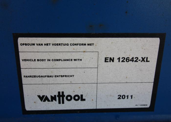 2011 напівпричеп Тентовані Van Hool 3B0062