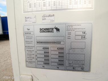 Schmitz SKO 24 FP45 MT Dopplestock MultiTemp