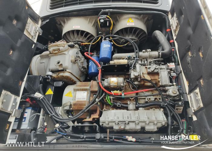 2012 Puspriekabė Šaldytuvas Schmitz SKO 24 FP45 MT Dopplestock MultiTemp