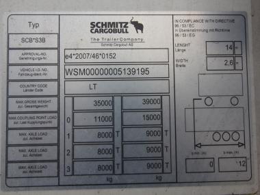 Schmitz SKO 24 FP45