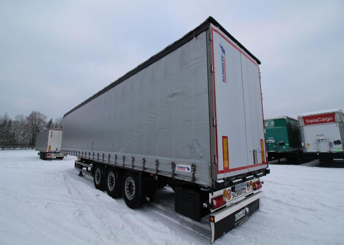 Schmitz Scs 24 L Lifting Axle Multilock Xl Curtainsiders
