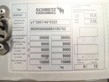 Schmitz SCS 24/L XL  Multilock  Koniki