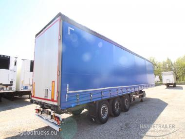 2014 Puspriekabė Užuolaidinė Schmitz SCS 24/L Multilock XL KONIKI