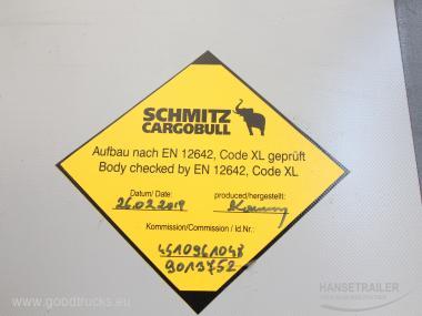 Schmitz SCS 24/L Curtain anti-theft protection