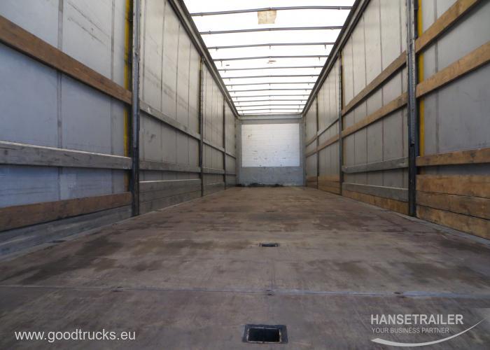 Schmitz Scs 24 L Curtainsiders Semi Remorque Hanse Trailer