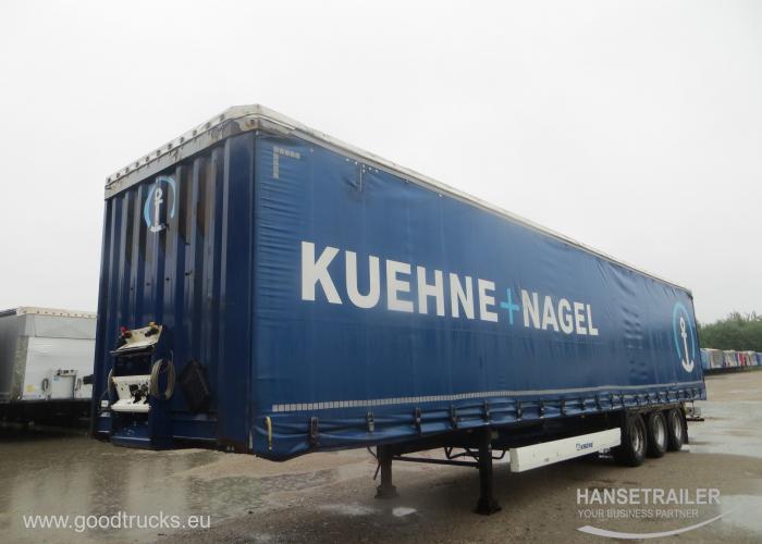 2012 Puspriekabė Užuolaidinė Krone SD