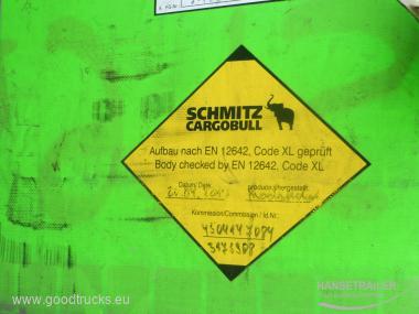 2013 Puspriekabė Užuolaidinė Schmitz SCS 24/L