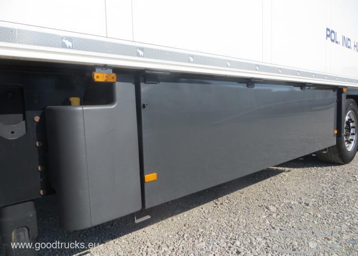 2015 Puspriekabė Šaldytuvas Schmitz SKO 24 FP60 Стена 7cm