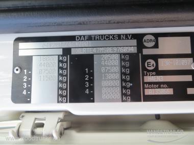 2013 Vilkikas 4x2 DAF FT XF105.460