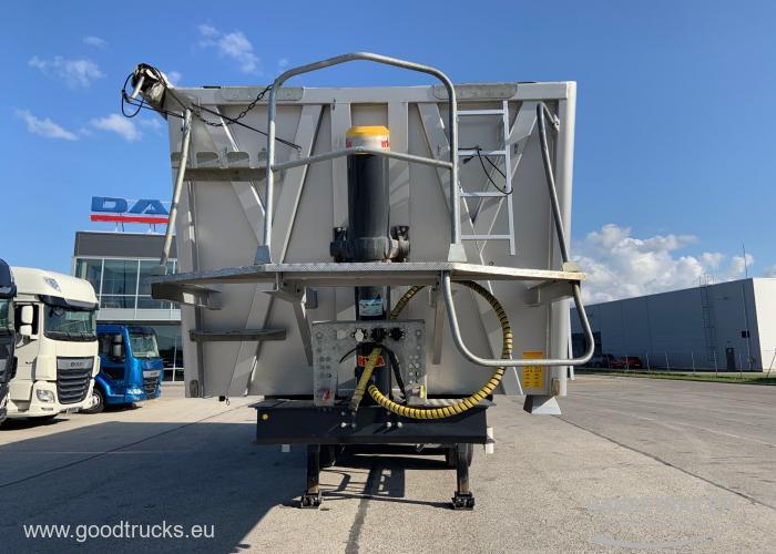2016 Puspriekabė Biraus krovinio transportas BODEX KIS 3W-A