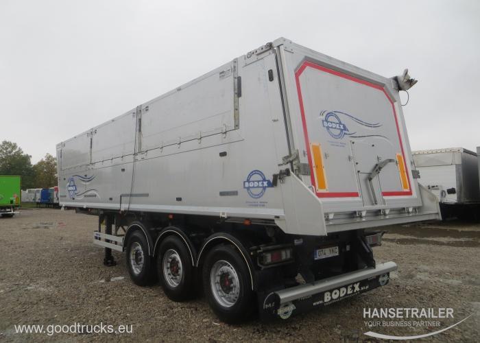 2016 Puspriekabė Biraus krovinio transportas BODEX KIS 3W-A 45 Cubic meters  2x lifting axles