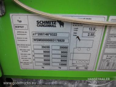 2013 Puspriekabė Užuolaidinė Schmitz SCS 24 Multilock XL