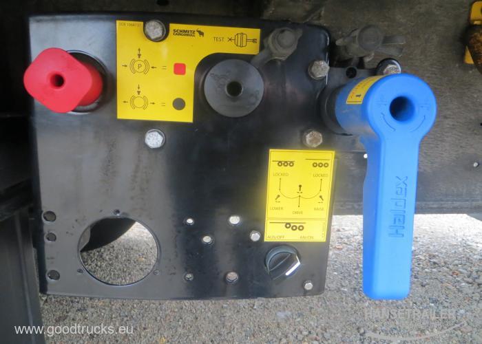 2014 Puspriekabė Užuolaidinė su bortais Schmitz SCS BS Lifting Axle Multilock XL