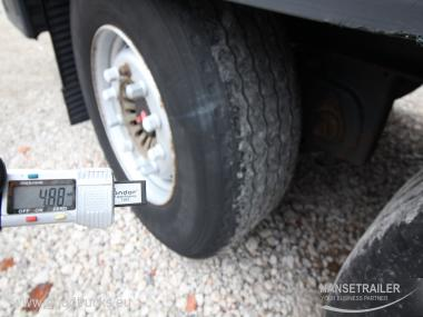 Krone SDP 27 XL Multilock Lifting AXLE