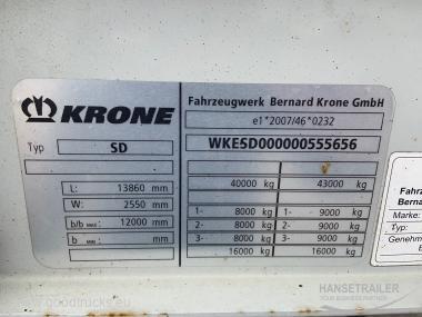 Krone SDP 27 Atvykstanti  Coming soon