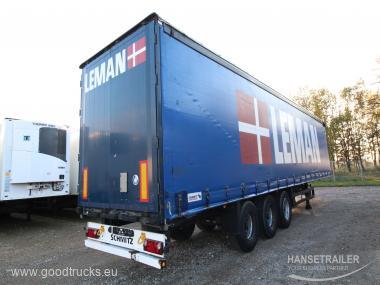 2011 Puspriekabė Užuolaidinė Schmitz SCS 24/L 20 Units