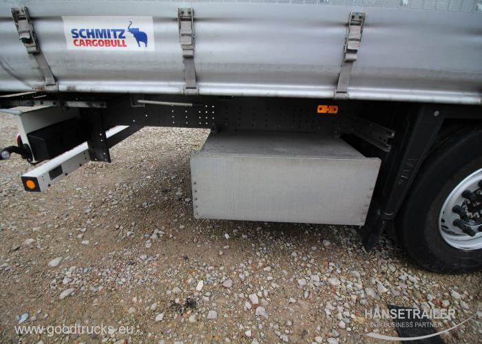 2017 Puspriekabė Užuolaidinė Schmitz SCS 24/L Multilock XL Lifting axle