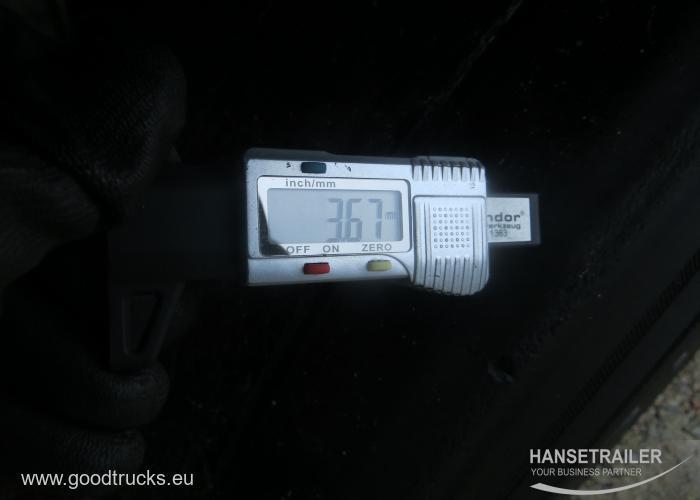 2017 Poolhaagis Kardinhaagis Schmitz SCS 24/L Multilock XL Lifting axle