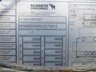 Schmitz SCS 24/L Multilock XL Lifting axle