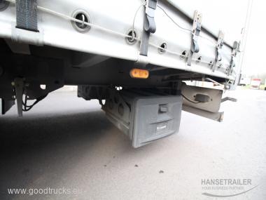 2018 Autotraukiniai Užuolaidinė DAF XF 460 FAR Wielton 18+20 Pallets KomplettZug Tandem