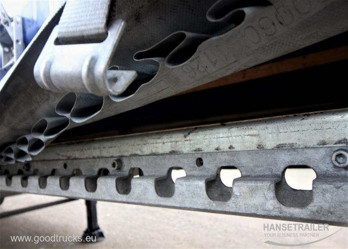 2019 Puspriekabė Užuolaidinė Schmitz SCS 24 Mega Doppelstock Double Deck
