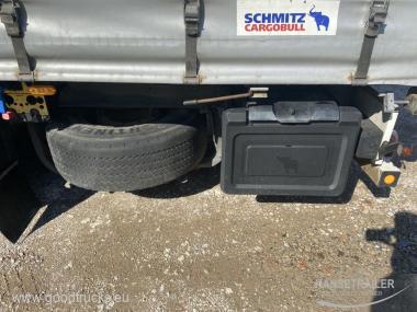 2008 Puspriekabė Užuolaidinė Schmitz SCS 24/L 2x Lifting Axle
