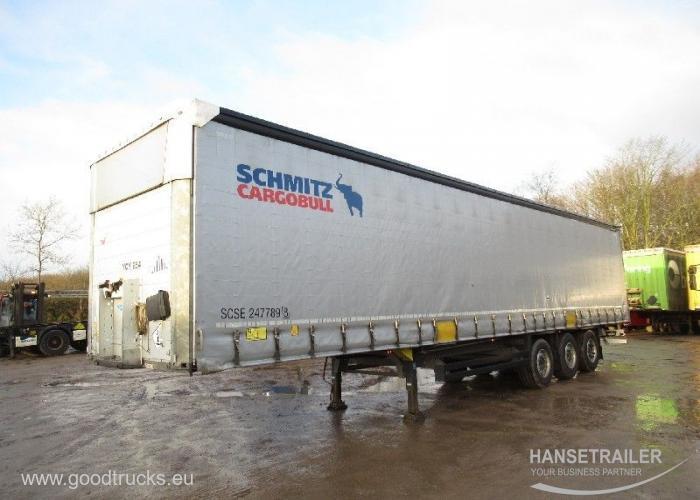 2016 Puspriekabė Užuolaidinė Schmitz SCS 24/L Multilock XL Anti-theft protection