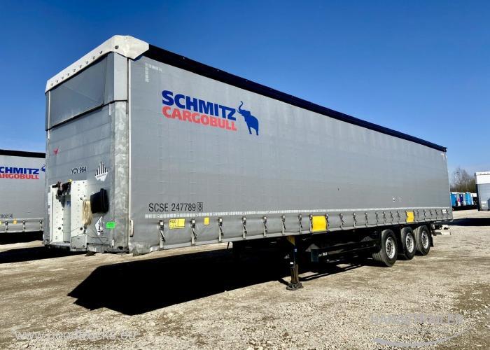 2016 Puspriekabė Užuolaidinė Schmitz SCS 24/L 212656Km. Multilock XL Anti-theft protection