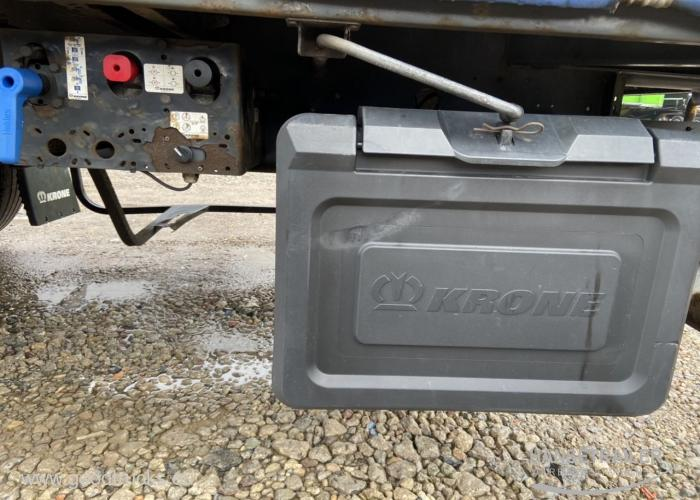 2014 Puspriekabė Užuolaidinė Krone SD Lifting Axle Multilock XL