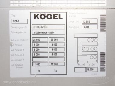 Koegel SN 24 Lifting Axle Multilock XL