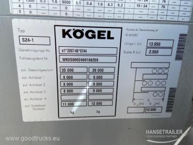 Koegel SN 24 Virintas rėmas frame damage