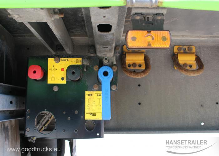 2015 Puspriekabė Užuolaidinė Schmitz SCS 24 Multilock XL