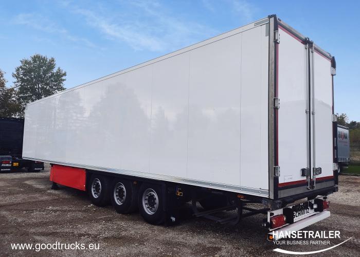 2013 Puspriekabė Šaldytuvas Schmitz SKO 24 4298h Doppelstock Double Deck