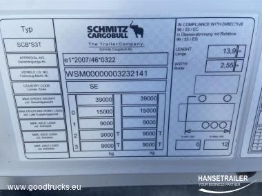 Schmitz SCS BS Hydraulic roof COIL