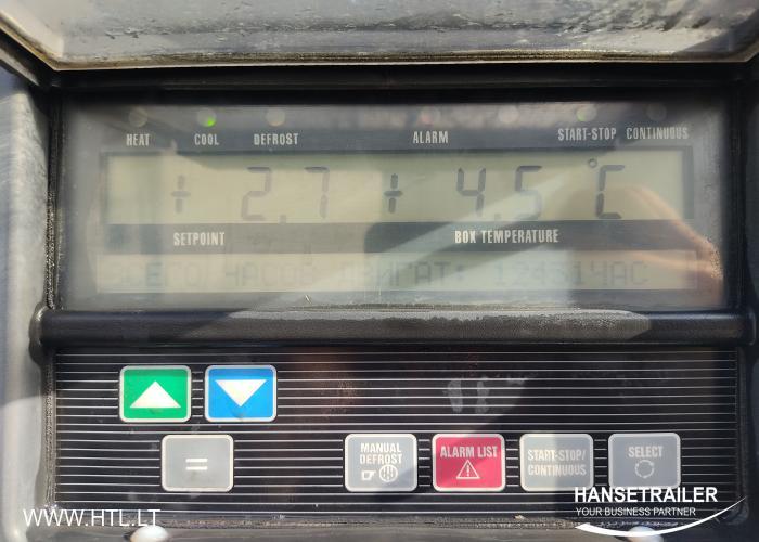 2012 Puspriekabė Šaldytuvas Schmitz SKO 24 FP45 Doppelstock Double Deck