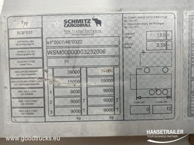 Schmitz SCS 24/L Hydraulic roof COIL