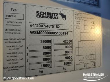 2014 Puoliperävaunu Kylmäkone Schmitz SKO 24