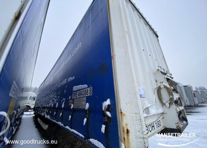 2009 Puspriekabė Užuolaidinė Krone SDP 27 Mega
