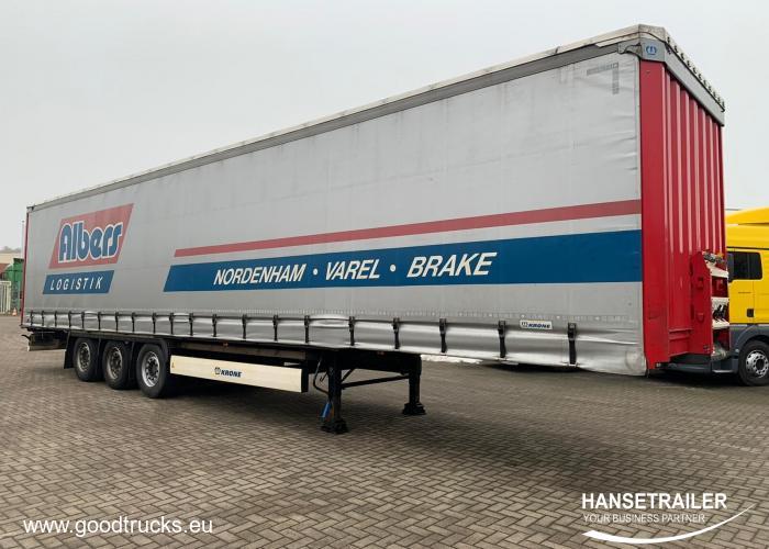 2015 Puspriekabė Užuolaidinė Krone SD2 Atvyksta