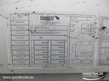 Schmitz SCS 24/L Atvyksta/Arriving