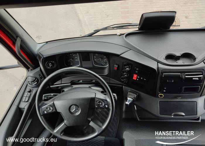 2017 Furgonas Užuolaidinė Mercedes-Benz Atego 824 L