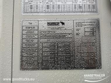 Schmitz SKO 24 Dopplestock Doubledeck